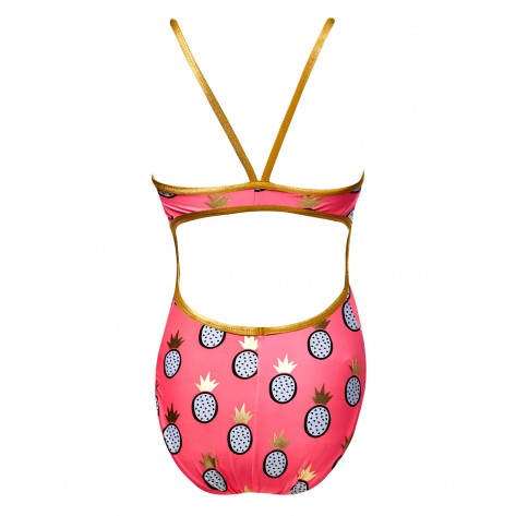 Women's Kingston Foil Funnies Flutterback Swimsuit  color