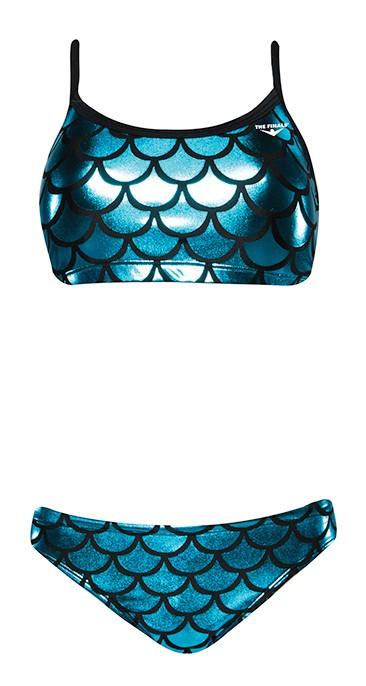f3ad5638aa Women s Funnies Mermaid Wingback 2pc Bikini Swimsuit