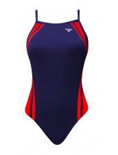 Women's Reactor Splice Butterfly Back Swimsuit