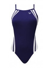 Girls' Reactor Splice Butterflyback Swimsuit