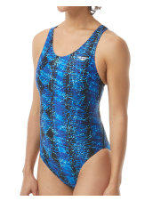 The Finals Women's Edge Waveback Swimsuit