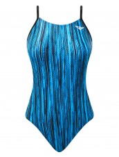 The Finals Girls' Zircon Swanback Swimsuit