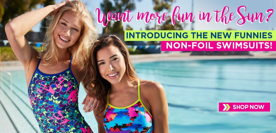Non-Foil Funnies Swimsuits