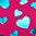 82 Pink/Teal color